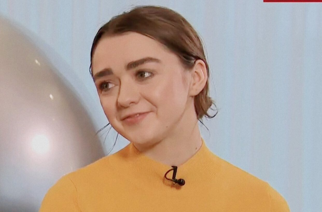 Maisie Williams for SkyNews